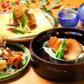 細部にまで手をかけた、繊細な匠の技が光る日本料理の世界に陶酔