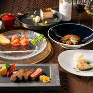ヘルシー、ビューティ、フレッシュをコンセプトに、「できたて」「楽しい」「おいしい」鉄板焼でもてなしてくれる【TAKUMI】。料理のみならず、雰囲気も楽しみたいという乙女心に応えてくれます。