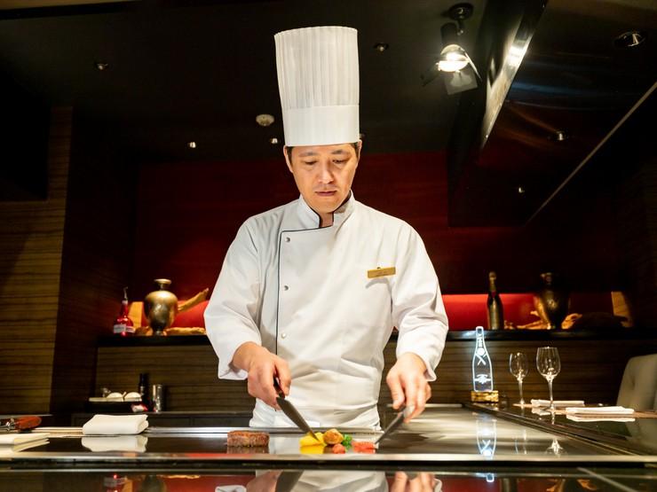 一番おいしい調理法や焼き加減で、ゲストに喜ばれる料理を提供