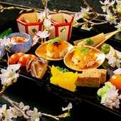 季節ごとに移りゆく、近江や京の旬のおいしさを堪能『懐石料理』
