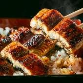 ふっくらした肉厚鰻の『うな重』