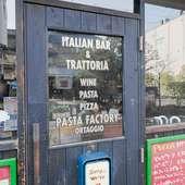 気軽に立ち寄れる店構え。「オルタッジョ」は「野菜」の意味