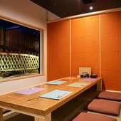 ひと味違った雰囲気を演出する特別な個室