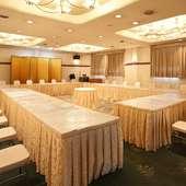 テーブル&座敷の大広間があり、最大80名様の宴会も可能