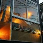 飯田橋駅近く、小栗横丁ビルの1階にあるフレンチ&ワインバー