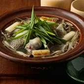 高級すっぽんの旨みと滋味を満喫できる! 絶品『丸鍋』