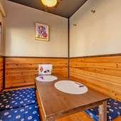 個室感覚で伸び伸び会食が楽しめるお座敷は予約がおすすめ