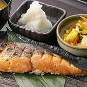 金華銀鮭粕漬焼き定食