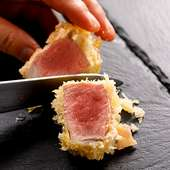 【ランチ】雪室熟成豚フィレ肉低温カツレツ (100g) ¥2,000