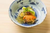 辛子酢味噌の濃厚な味わいのなかに素材の瑞々しさが溢れる『ぬた和え』