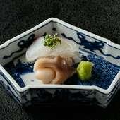 鮮度の高い魚介もほどよく熟成させて提供するこだわり