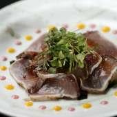 能登の海の幸をはじめ、その時期の食材を使った料理たち