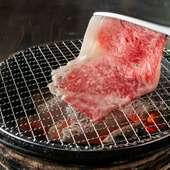 職人技で、肉の旨みを最大限に引き出した『焼きしゃぶ』