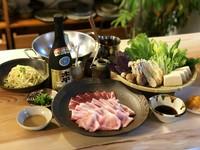 ・本日の前菜 ・琉球在来種アグーの盛り合せ ・島野菜盛り合わせ ・土鍋炊きごはん ・季節のソルベ