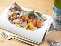 """地産地消。広島の""""おいしいもの""""でつくられた『本日の鮮魚のアクアパッツァ』"""