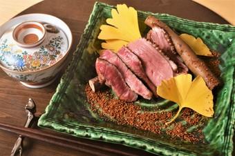 お昼からちょっと豪華にお食事を楽しみたい方への、こだわり手打ち蕎麦付き和食コース ※2名様よりご予約可