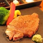ジューシーで歯がいらない程やわらかい『広島牛ヒレステーキ』