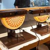 チーズ料理専門店らしい、チーズづくしのもてなしを受けられる