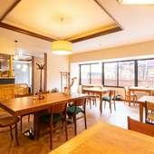 シーンを問わずに寄り添う。アットホームな雰囲気あふれる食堂