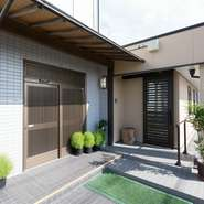 ロケーションは吉野川河口のすぐ近く。広々とした一軒家です