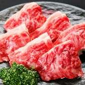 いろいろな食べ方を通じて、タンの魅力を教えてくれる『タンの盛り合わせ』