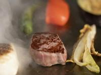 博多黒毛和牛のサーロインステーキが絶品『創作鉄板コース 空-koo-』