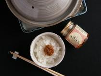 炊きたてご飯に『明太ラー油』をたっぷり