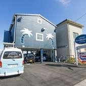 オーナーシェフの地元、広島県福山市の海辺に佇むカフェ&バー