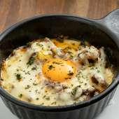 自家製ソースが柔らかな若鶏の肉にぴったり『若鶏のコンフィ』