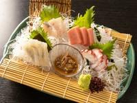 旬の魚を肴に『《刺身盛り合わせ》錦盛り』