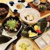 日本酒をよりおいしく味わうためのコース『本日のおまかせコース』