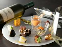 季節食材とトリュフのマリアージュ! オッジダルマットで贅沢なひとときをお過ごし下さい。