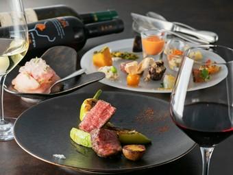 趣向を凝らした料理の数々とトリュフをふんだんに使った最高のマッチング!
