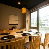 おいしい料理と心地よい空間は、接待の場にも大活躍