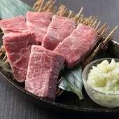 今までの「熟成肉」と「ハラミ」のイメージを変えてくれる、旨みとジューシーさが突出した『熟成ハラミ』