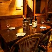 レパートリー豊かな料理が揃い、普段使いできるレストラン