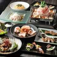 ※鍋ありor鍋なしを選べます。 ※飲み放題120分2000円(税別)があり、熊猫コースと飲み放題のセットは5000円(税込)とお得です。