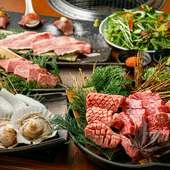 神戸牛指定登録店ならではのハイクオリティな神戸牛を味わえる