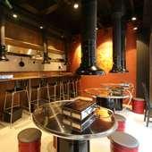 肉好き男女が集うカジュアルな雰囲気の焼肉店。貸切宴会も可能