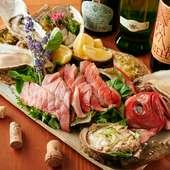 要予約!!『天然金目鯛カルパッチョと海鮮盛り』
