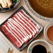 初めての味と食感を楽しめる『埼玉県産合鴨ロース肉の鴨しゃぶしゃぶ』