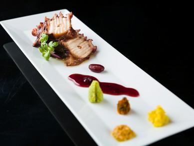 新鮮な魚介の旨みをそのままに。『お刺身盛り合わせ』