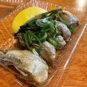 広島牡蠣の自家製スモーク