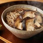 椎葉村産 蕎麦粉の手打ち蕎麦