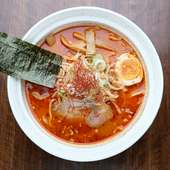 人気のラーメン。台湾旨辛ラーメン味噌。