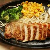 SPF Pork Steak Lunch Set