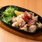 薩摩赤鶏の岩塩焼き