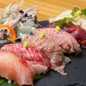 肉寿司6貫盛り