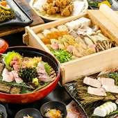 【宴会料理】山口素材をふんだんに使った豪華宴会コース
