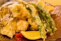 おすすめ 鱧の大葉巻き梅肉天ぷら